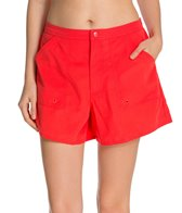 Maxine Solid Woven Boardshort