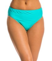 Nautica Signature High Waist Bikini Bottom