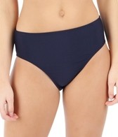 Nautica Classic Solids High Waist Pant Bikini Bottom