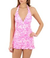 Coco Rave Melrose Halter Swimdress