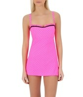 Coco Rave Status Dot Ruffle U-Wire Demi Swimdress