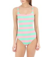 Sperry Top-Sider Women's Garden Club Lace Back Maillot One Piece