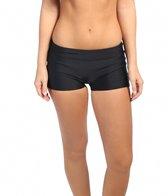 prAna Raya Solid Boyshort Bikini  Bottom