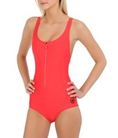 Body Glove Women's Zip Tank One Piece