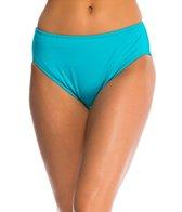 24th & Ocean Swimwear Solid High Waist Bikini Bottom