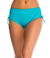 24th & Ocean Solid Adjustable High Waist Bikini Bottom