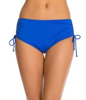 24th & Ocean Solid Adjustable High Waist Bikini Bottom
