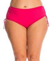 24th & Ocean Plus Size Adjustable High Waist Bikini Bottom