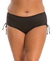 24th & Ocean Plus Size Adjustable High Waist Bikini Bottom