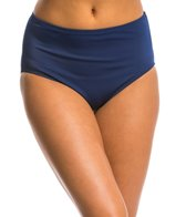 Jantzen Signature Swimwear Solid Comfort Core High Waist Bikini Bottom