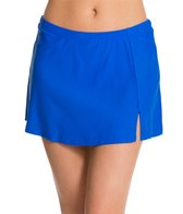 Ceeb Solid Swim Skirtini Bikini Bottom