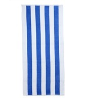 Royal Comfort Cabana Stripe Terry Velour Beach Towel 30 X 62