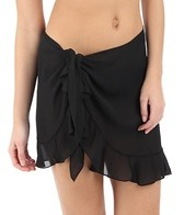 Dotti Weekend Wrap Ruffle Cover Up Pareo