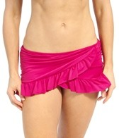 Kenneth Cole Reaction Ruffle-Licious Side Rouched Swim Swim Skirt