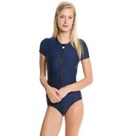 next-good-karma-solid-malibu-zip-s-s-one-piece