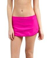Next Good Karma Solid Lotus Skort Bikini Bottom
