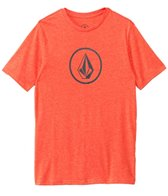 Volcom Men's Round Stone Short Sleeve Surf Tee
