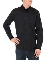 Volcom Men's Why Factor Solid L/S Shirt