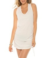 Eco Swim Shirred Side Dress