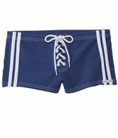 Sauvage Football Lace-Up Square Cut Swim Short