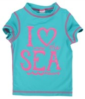 Billabong Billie Girls' Lola I Heart the Sea S/S Rashguard (4-12)