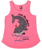 Billabong Billie Girls' Swimming All Day Tank (4-16)