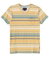 Billabong Men's Made Henley Short Sleeve Tee