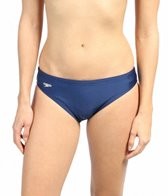 Speedo PowerFLEX Solid Swimsuit Bottom