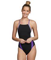 Speedo Launch Splice Endurance + Cross Back Swimsuit