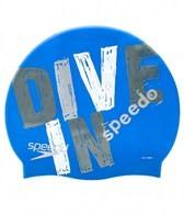 Speedo Dive In Silicone Swim Cap