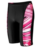 Speedo Rainbow Stripe BS4H Jammer Swimsuit