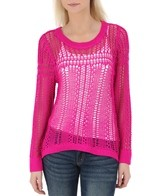 Billabong Women's Liv For Luv Crew L/S Sweater