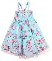 Seafolly Girls' Rococo Rose Sun Dress (2-7yrs)