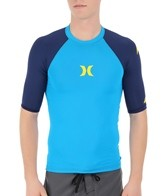 Hurley Men's One & Only Short Sleeve Rashguard