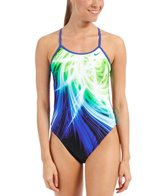 Nike Swim Galactic Opera Modern Cut Out Tank