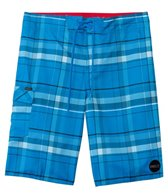 O'Neill Men's Santa Cruz Plaid Boardshort