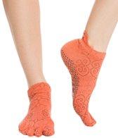 Toesox Low Rise Full-Toe Grip Socks