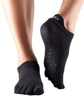 Toesox Low Rise Full-Toe Yoga Grip Socks