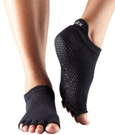 Toesox Low Rise Half Toe Yoga Socks