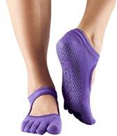 Toesox Mary Jane Bella Full-Toe Grip Socks