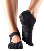 Toesox Mary Jane Bella Full-Toe Yoga Grip Socks