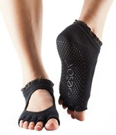 Toesox Mary Jane Bella Half-Toe Yoga Grip Socks