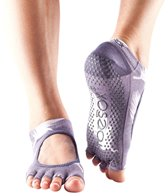 Toesox Mary Jane Bella Half-Toe Yoga Grip Socks