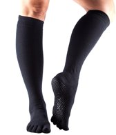 Toesox Scrunch Knee High Full Toe Yoga Socks