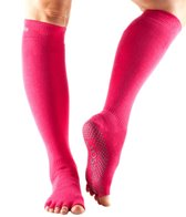 Toesox Knee High Scrunch Half-Toe Grip Socks