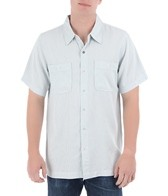 Toes On The Nose Men's Pebble Beach Short Sleeve Woven Shirt