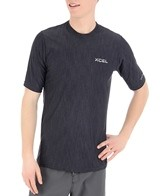Xcel Men's Heathered VentX S/S Surf Tee