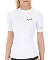 Xcel Women's Premium 6 Oz Short Sleeve Rashguard