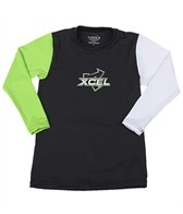 Xcel Boys' Premium 6 Oz Long Sleeve Surf Tee