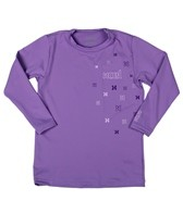 Xcel Girls' Premium 6 Oz Long Sleeve Surf Tee
